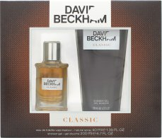 David Beckham Classic Eau de Toilette 40ml Spray + Shower Gel 200ml Gift Set
